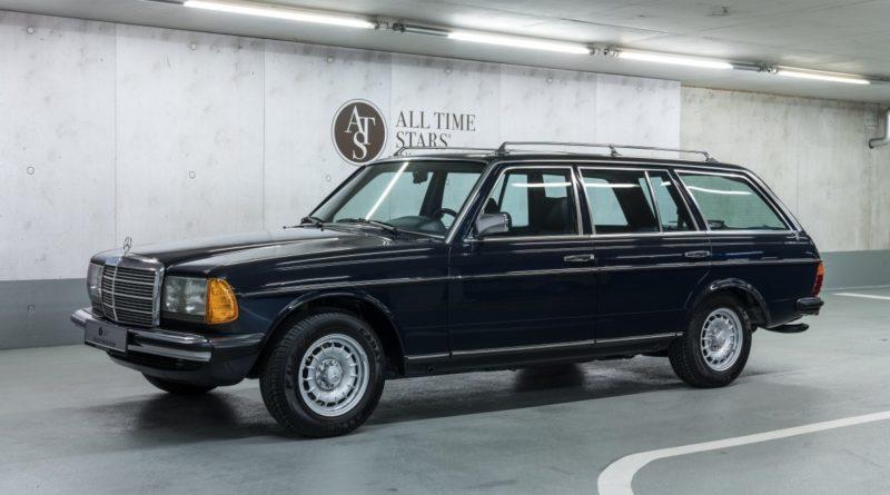 1984 S123 280TE Mercedes-Benz Müzesinden Satılık*