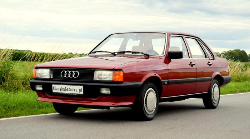 14 Bin Km.de! 1985 Audi 80 Dizel Satılık*