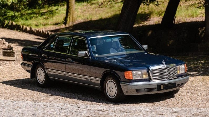 Boyasız 17 Binde! Mercedes-Benz W126 300 SEL