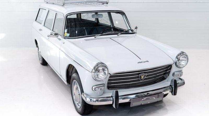 1964 Peugeot 404 Orijinal Boyasında!