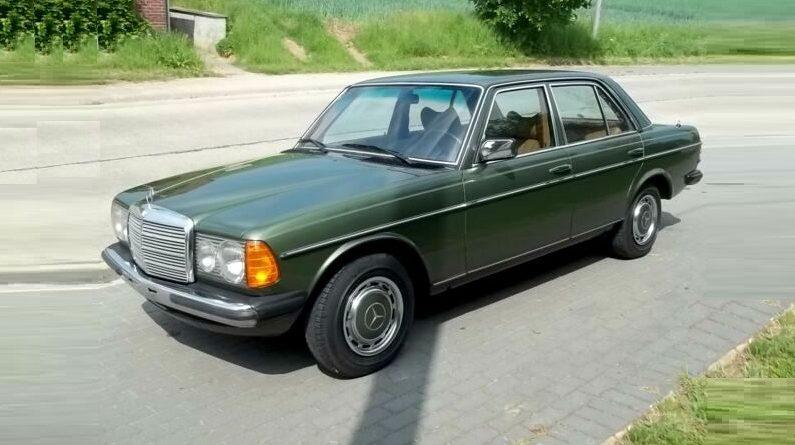 Sadece 14 Bin'de 1976 W123 Mercedes-Benz 200