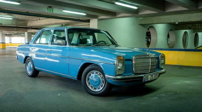 SATILIK W115 Mercedes-Benz 230.4 Full Restoreli